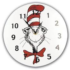 Dr.Suess clock