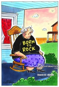 Born to rock.