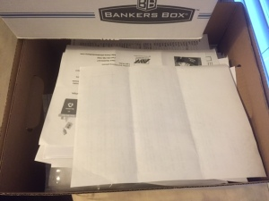 Box of papers