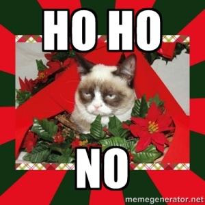 Ho, Ho, NO Grumpy cat