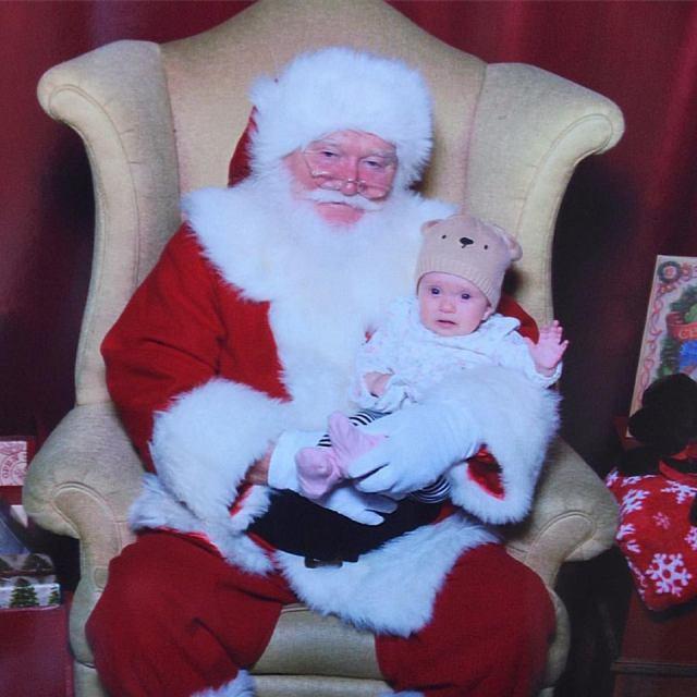 Sunny and Santa